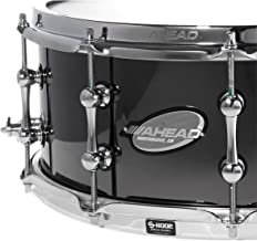 Ahead Black Chrome on Bell Brass Snare 14 x 6 in.