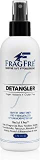 FRAGFRE Hair Detangler Spray 8 oz - Leave in Conditioner for Sensitive Skin and Scalp - Styling Heat Protectant Spray - Fr...