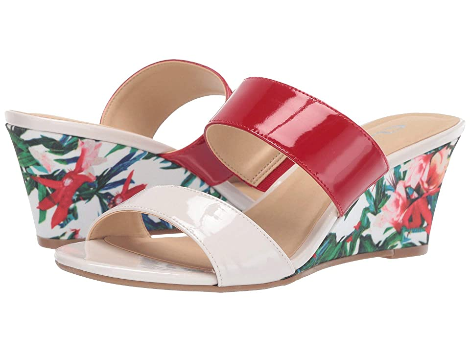 CL By Laundry Tulip (Cream/Flame Red Patent) Women