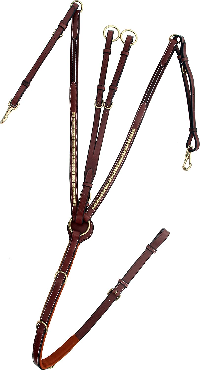 ExionPro Brass Clinched Soft Padded with Horse At the price of surprise Breastplate Ranking TOP12 Runni