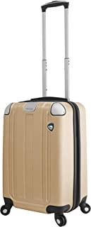 Mia Toro Italy Accera Hardside Spinner Carry-on, Champagne