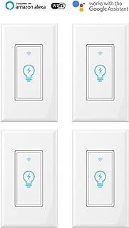 Smart Switch, WiFi Light Switch In-wall Wireless...