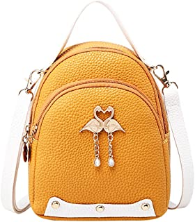 FEISI22✿Women New Bohemian Laptop Backpack Business Laptop Backpack College Student Travel Outdoor Backpack