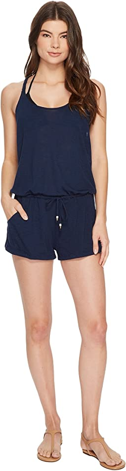 BECCA by Rebecca Virtue Breezy Basics Romper Cover-Up