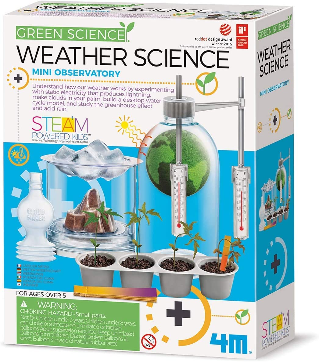 Kids Chemistry Set Educational Science Kit Experiment Lab Learning Toy Weather