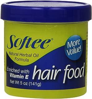 Softee Hair Food with Vitamin E, 5 oz