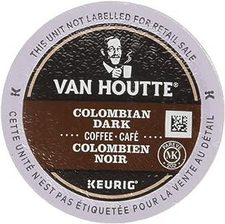 Van Houtte 100% Colombian Dark Coffee, 24-Count K-Cups for Keurig Brewers (Pack of 2)