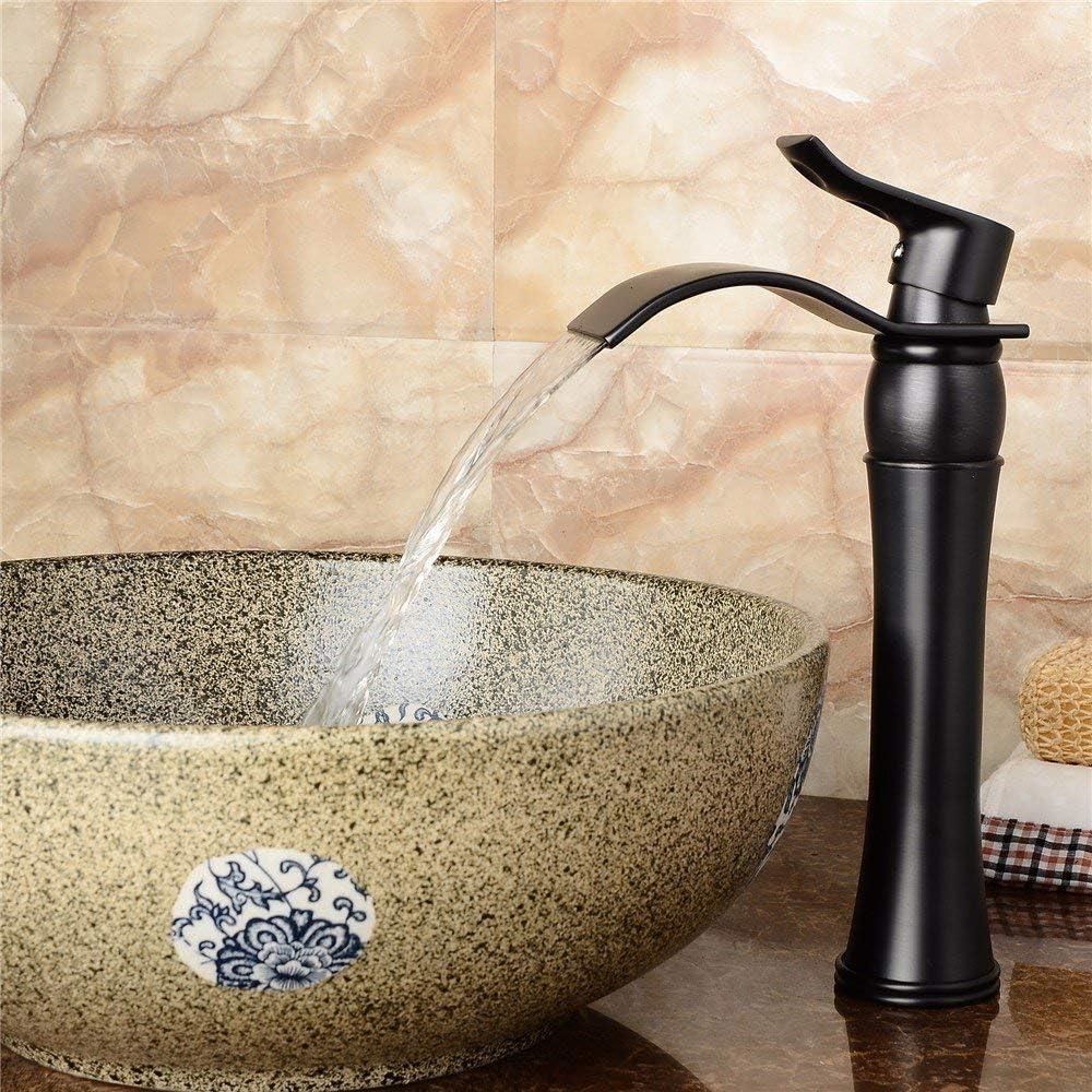 GUOCAO Tap All black Brand Popular Cheap Sale Venue copper fitti washbasin fittings rotatable