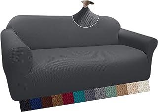 Granbest Housse de canapé épaisse et élégante - Housse de canapé élastique en Jacquard avec accoudoirs pour Le Salon - Ant...