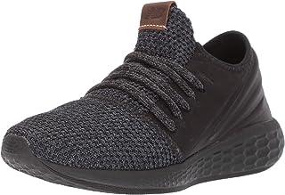 New Balance Womens Cruz V2 Fresh Foam Running Shoe, Black/Magnet/Nimbus Cloud