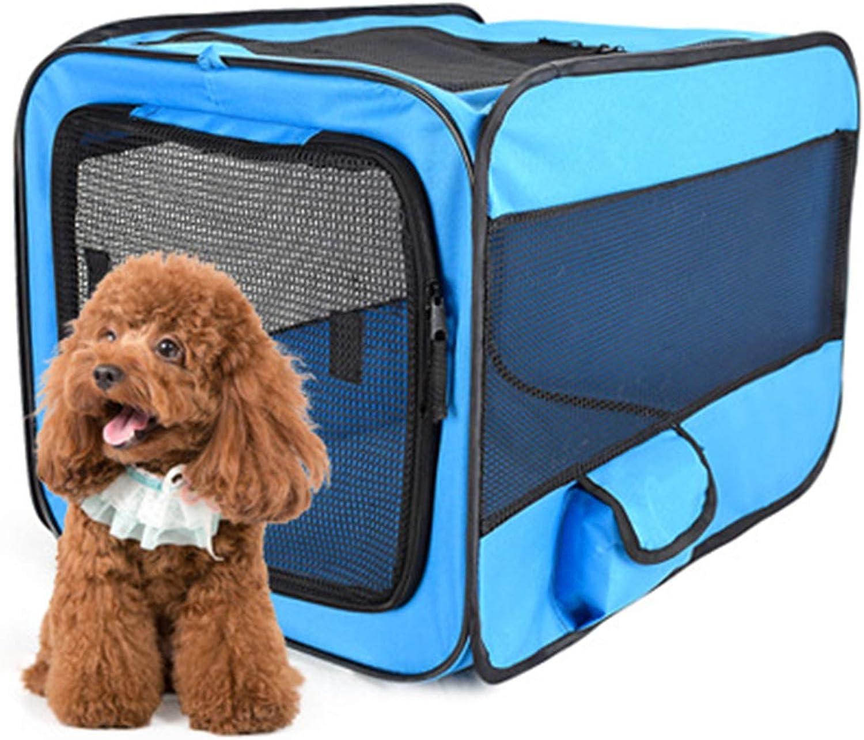 Car Kennel 600D Oxford Cloth Portable Foldable Pet Tent Large Pet Fence