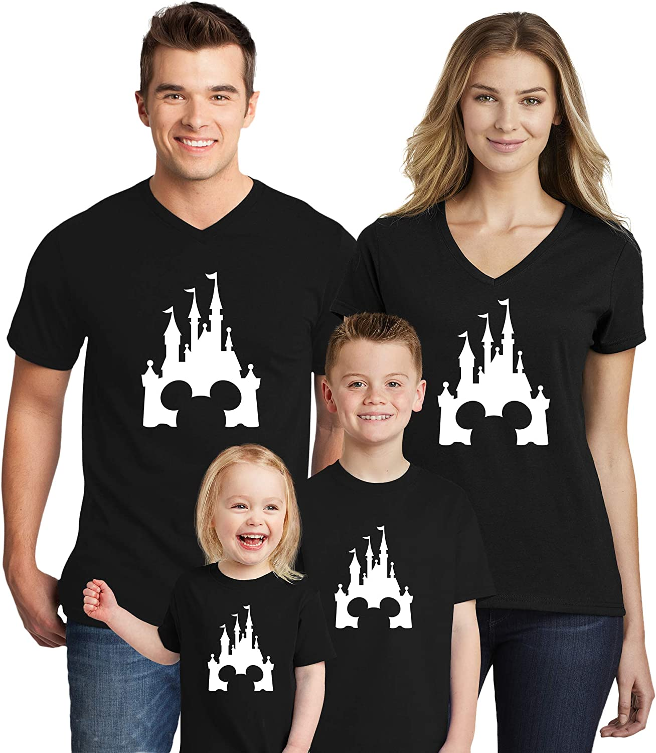 Natural Underwear Family Trip 2020 Mickey Minnie Mouse Magicland Matching Shirts
