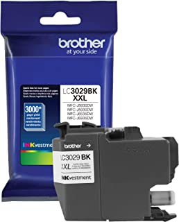Best Brother Genuine Super High Yield Black Ink Cartridge, LC3029BK, Replacement Black Ink, Page Yield Up To 3000 Pages, Amazon Dash Replenishment Cartridge, LC3029 Review
