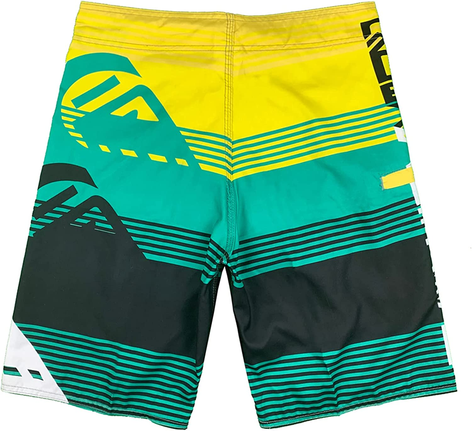 Men's Casual Classic Fitness Sports Plus Size Surfing Quick-Drying Beach with Elastic Waist Pants Drawstring Shorts