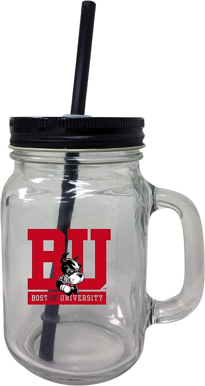 R and 5% OFF Imports Boston Terriers Jar Mason Set-NCAA Tumbler cheap