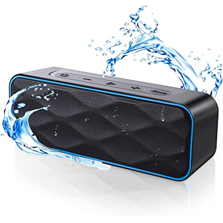 Waterproof Bluetooth Speaker, ZoeeTree S1Pro Speaker Bluetooth Wireless with Strong Bass & 20W HD Sound, Bluetooth Speakers with 36Hours, 100Ft Wireless Range, Portable Speakers for Outdoors, Travel