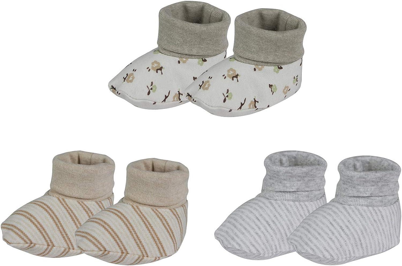 Unisex Baby Booties, Organic Cotton Baby Booties Socks