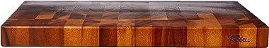 Davis & Waddell D3153 Acacia Wood End Grain Cutting Board, Natural, 50cm x 35cm x 4cm