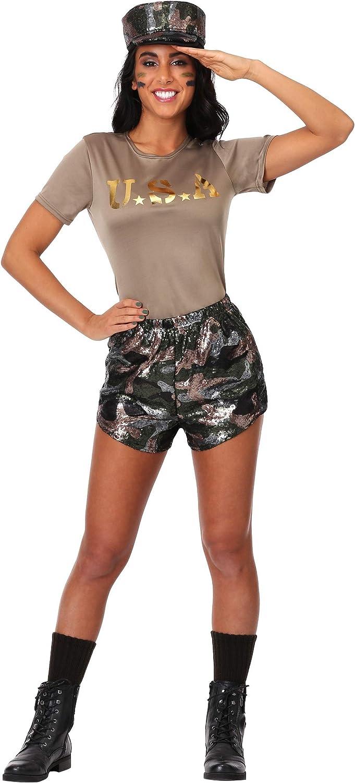 minoristas en línea Wohombres Wohombres Wohombres bota Camp Babe Fancy Dress Costume Small  nueva gama alta exclusiva