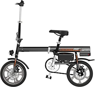 Airwheel R6 超小型 ボタン1つで自動伸縮 パナソニック製30.5v 18Ah (ブラック)