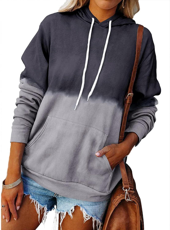 NEEKEY Wholesale Sweatshirts for Womens Casual Long Tops Tunic Genuine Sleeve Tie