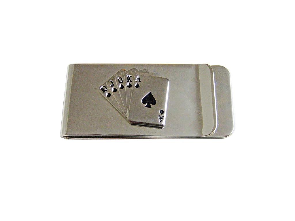打倒宝天気Royal Flush Gambling Pokerお金クリップ