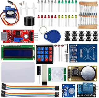 OSOYOO RFID Security Master Starter Kit for Arduino UNO R3 Mega2560 Basic Learning DIY (18 Components Included)