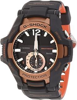 ساعة جي شوك انالوج-رقمية بمينا اسود للرجال من كاسيو - GR-B100-1A4DR (G869)