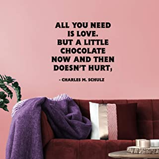 Best charles m schulz chocolate quote Reviews