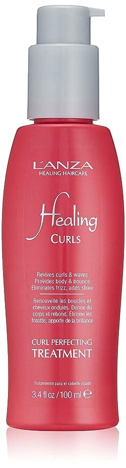 ハッチ場合ジョージスティーブンソンランザ Healing Curls Curl Perfecting Treatment 100ml/3.4oz並行輸入品