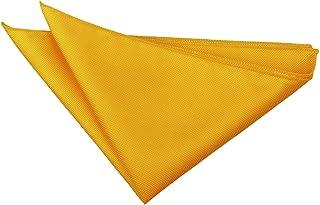DQT Men Plain Solid Check Wedding Formal Casual Groom Page Boy Handkerchief Pocket Square Hanky