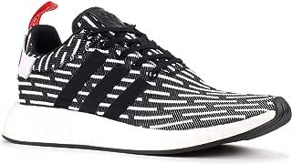 Adidas NMD_r2 - Zapatillas de Malla para Hombre Negro Negro/Blanco 43 1/3 EU