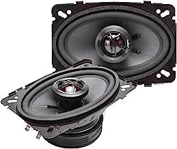 "Skar Audio TX46 4"" x 6"" 140W 2-Way Elite Coaxial Car Speakers, Pair"