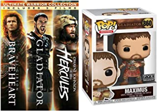 """""""Death smiles at us all. All we can do is smile back."""" Braveheart + Gladiator + Hercules + Maximus FYE Funko POP! Exclusiv..."""