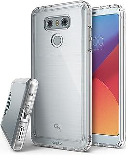 Ringke Funda LG G6 / G6 Plus [Fusion] Protector de TPU con Parte Posterior Transparente de PC [Protección contra caídas] Carcasa Protectora biselada - Transparente Clear