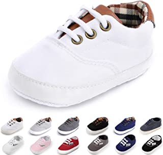 Morbido Infant Baby Boys Girls Canvas Toddler Sneaker Anti-slip First Walkers کفش آب نبات 0-24 ماه 12 رنگ