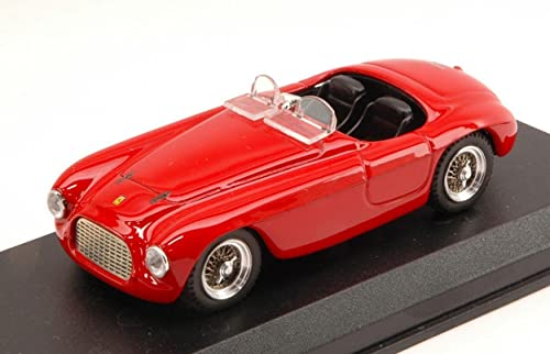 Art-Model AM0005 Ferrari 166 MM Spyder 49 rot 1 43 MODELLINO DIE CAST Model kompatibel mit