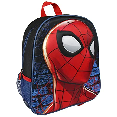 Artesania Cerda Spiderman 2100001969 Mochila Infantil, Multicolor, 40 cm