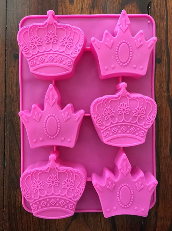 PRINCESS CROWN SILICONE MOLD MINI CAKE PAN PRINCESS MUFFIN MOLD
