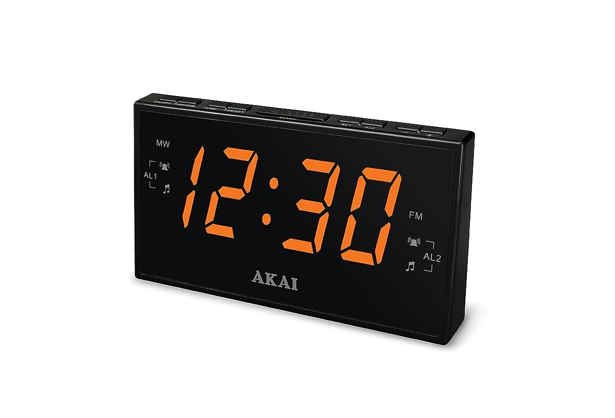 やけどアルコールいつでもAkai CE1008 AM/FM Clock Radio by Kelley International Sales & Marketing, Inc. [並行輸入品]