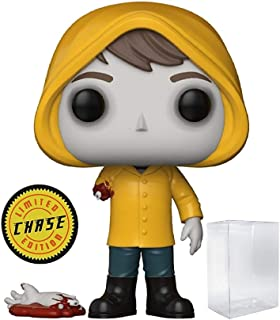 Funko Pop! Movies: Stephen King's It - Bloody Arm Georgie Denbrough CHASE Variant Limited Edition Vinyl Figure (Bundled with Pop Box Protector Case)