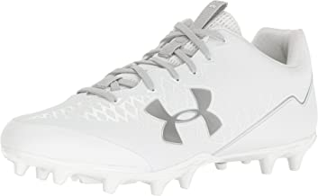 Under Armour New Mens Nitro Select Low MC Football Cleats White/Silver Sz 14 M
