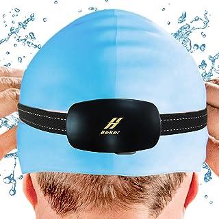 Beker 骨伝導水泳防水MP3プレーヤー 8GB ブラック スポーツ用 防水IPX8/イヤホン不要/ワイヤーフリー/ウェアラブルミニスピーカー
