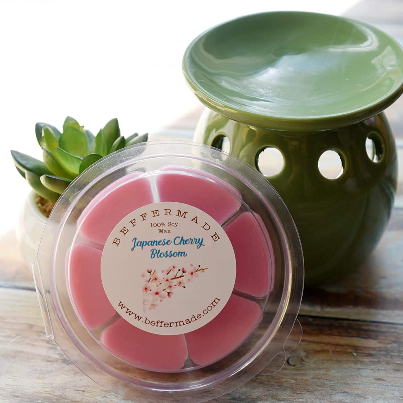 Japanese Cherry Blossom Wax Melts- pack of 6 petals