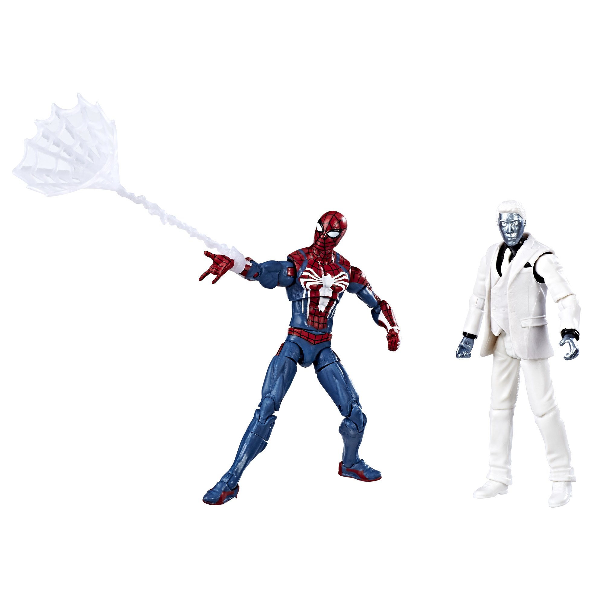 Marvel Gamerverse Spider-Man Spider-Man vs. Mister Negative 3 3/4 ...