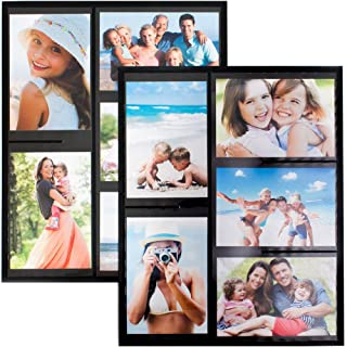 Wind & Sea Magnetic Picture Collage Frame for Refrigerator, 2-Pack, ...