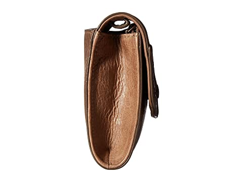Pull Melissa Dark Antique Crossbody Whipstitch Frye Up Wallet Taupe BOwcFqPWPa