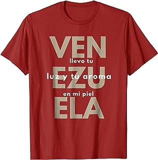 Venezuela Camisa Shirt llevo tu luz Tee Gift