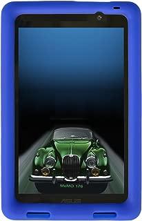Bobj Rugged Case for ASUS MeMO Pad 7 Models ME176C, ME176CX, ME176CE, K013, K013C (Not for MeMO 7 LTE) - BobjGear Custom Fit - Patented Venting - Sound Amplification - Kid Friendly (Batfish Blue)