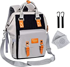 Diaper Bag Backpack-Multifunction Travel Back Pack, Waterproof Maternity Baby Nappy Changing Bags for Mum, Dad, Men, Women, Large Capacity And Stylish, Durable Baby Nappy Bags Organizer for Boys Girls